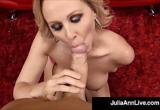 Big Titty Milf Julia Ann Tongue Fucks Hot Babe Kayla Paige!