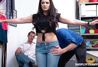 Mesmerizing big breasted brunette Sheena Ryder dreams be expeditious for good doggy