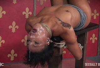 Nasty Dee Williams loves fucking her slave girl Nikki Darling