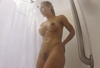 Muscular Nicole Aniston precipitation after a wield