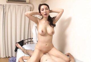 Misa Arisawa - Japanese mom in amateur hardcore scene - Asian chest