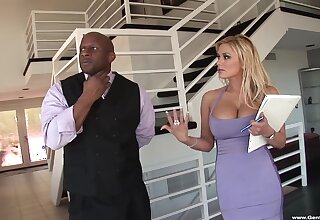 Cum in mouth and primarily tits after hardcore fucking with Shyla Stylez