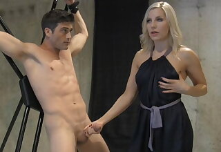 Edged sexual connection slave training