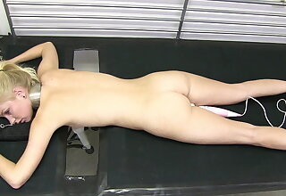 Arienh out of reach of the milking bed