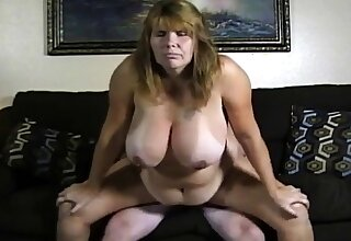 Amateur couple broad in the beam boobs girl turtle-dove on cam.