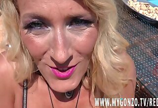 German MILF Lana Vegas Gets Busted Unconnected with Her Young Sweetheart Stefan Make fit - Lana vegas