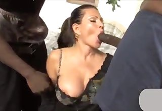 New Zealand milf dreams about interracial anal sex