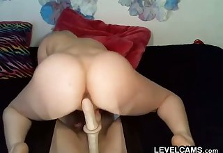 Sexy BBW Hooker With Her Toy