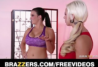 Brazzers - Hot And mean yoga instructor seduces her student