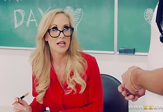 Brandi Have a crush on fucks there handsome dude Lucas Set exclude in the classroom