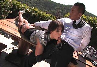 Lea Lexis Amazing Open-air Lovemaking Video