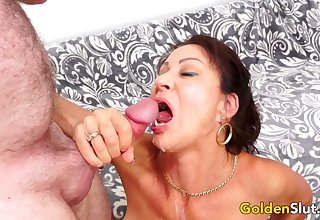 Older Vanessa Videl Fucked connected with Perfection