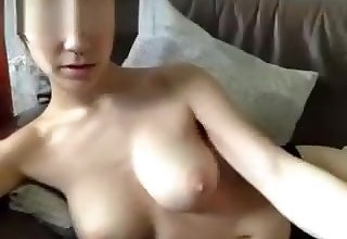 Appealing Teen With Great Tits Rubs Pussy Part 01