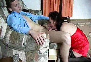 Elderly mature love blowjob and hardcore penetrate