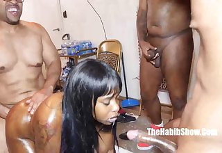 Blasian start 18yr black teen gangbanged