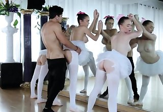 Two euro teen anal and broad in the beam plunder first time Ballerinas