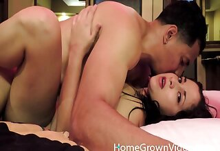 Amateur wife with surprising horde fucked prone-bone and missionary