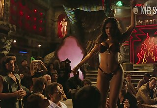 Salma Hayek's table dance from Dusk suck up to Dawn is sexy and off colour